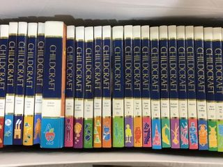 Set of  29  Childcraft Educational Books