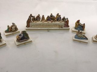 7  The life Of Christ limoges Box Collection