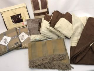 Selection of Brown Curtains   Valances