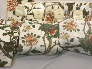 Flower Pattern Shams  Duvets    Valances