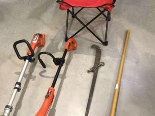 Yard Tools   Huskers lawn Chair