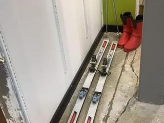 Swallow Sl180 Snow Skis  Boots    Poles