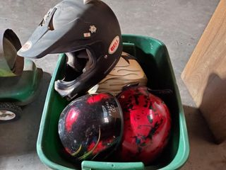 Bell  Fulmer  Assorted Helmets