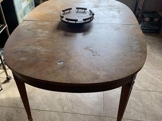 Dining Room Table and lazy Susan
