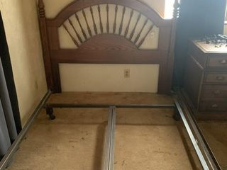 Full Queen size Headboard and frame