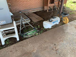 Home Garden Implements   Sprayer  planter  etc