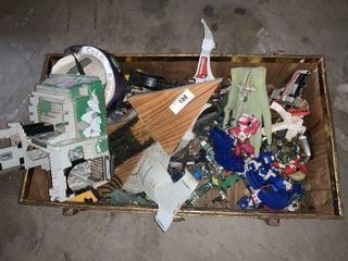 Toy Box and Contents