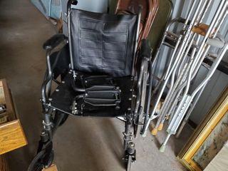 Wheelchair   crutches