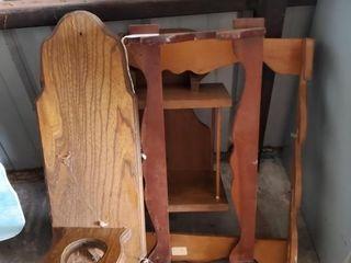 Wood Shelf   Gun Racks