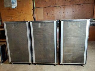 3   Peavey speakers 215H Enclosures