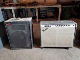 Fender and Sunn Amps