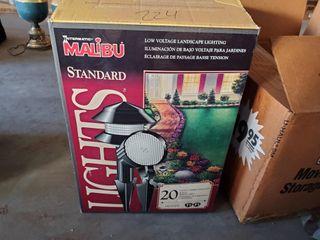 Malibu outdoor lights