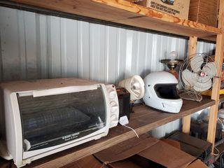 Cycle Helmet  Toaster Oven  asst