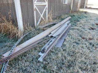 Scrap Pile  Sucker Rod  asst metal