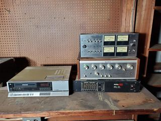 Sony  Sunn  and Sanyo Amplifiers