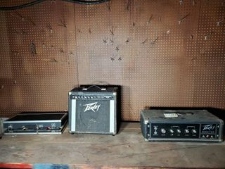 Peavey Monitor  Amp  and Arion Power Supply