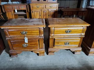 2 Wood Night Stands