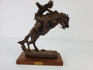 Frederic Remington  The Bronco Buster