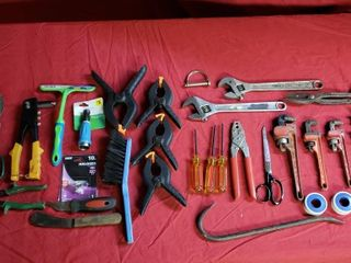 Misc Tools   Clamps  Pipe Wrenches  Pry Bar