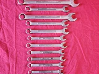 Craftsman Combination Wrenches   17pcs