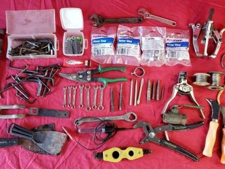 Misc Tools   Puller  Vise Grip  Water Stops