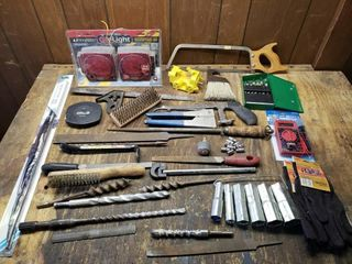 Misc Tools   lights  Multimeter  Files  Bits