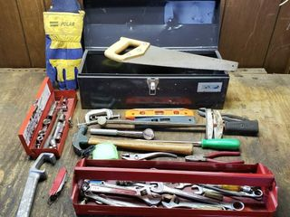 Misc Tools   Box  Torque Wrench  Hammer  Tapes