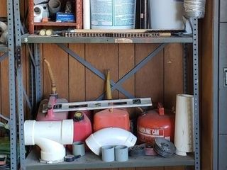 Garage Shelving with All Contents    1