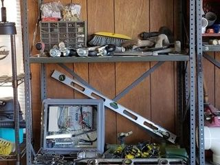 Garage Shelving with All Contents    2