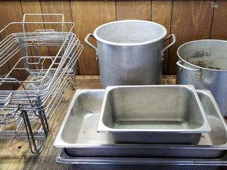 Stock Pots   Chafing Dishes