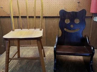 Childs Wood Chairs