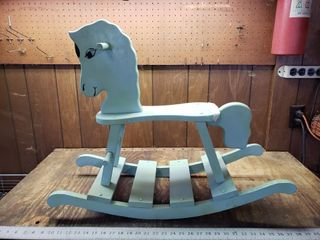 Childs Painted Rocking Horse