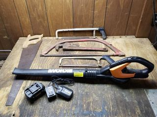 WORK Blower   Charger   Rigid Pipe Wrench   Saws