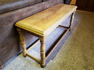 Wood Sofa Entry Table