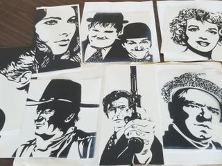 Famous Silhouettes   Assortment