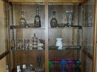 Contents of Family Room Hutch