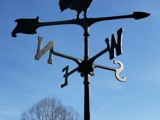 Iron Rooster Weathervane
