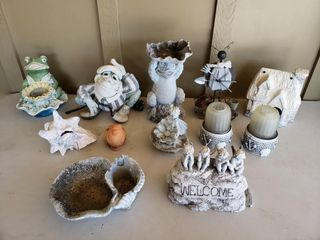 Outdoor Decor   Frogs  Angels  Conch Shell
