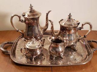 Gorham Silverplated Coffee   Tea Set
