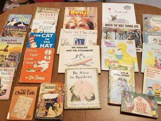 Children s Books   Vintage little Golden Books  Dr  Seuss  Sesame Street and More