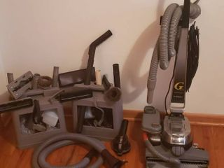 Kirby G Six Vacuum w Accessories and Carpet Shampooing system
