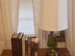 Bibles  Religious Books  and Table lamp  31 in  tall  Works