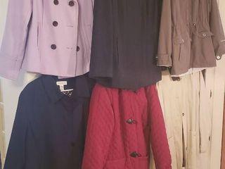 6 ladies Winter Coats   Size large   Xlarge