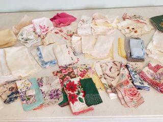 ladies Vintage Handkerchiefs