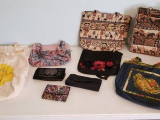 Purses  Wallets  Hand Purses and Cloth Tote Bags