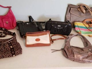 Purses and Hand Bags   Miche  Dooney   Bourne  imitation   made in Mexico  and other Brands