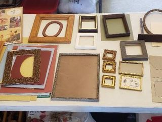 Assorted Frames   Various Styles and Sizes