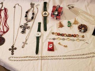 Christmas and Cross Jewelry