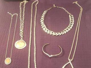 Silvertone Costume Jewelry
