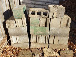 Stack of Concrete Blocks   29 blocks